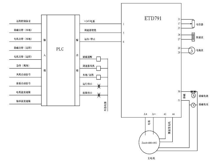 电机远程控制电路图